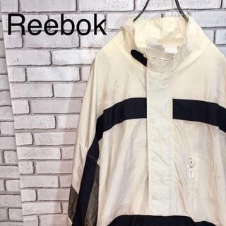 リーボック(Reebok)のリーボック ナイロンジャケット サイズ2XL ハーフジップ(ナイロンジャケット)