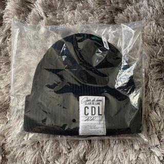 サンダイメジェイソウルブラザーズ(三代目 J Soul Brothers)のCLAIR DE LUNE Knit cap black 登坂広臣(ニット帽/ビーニー)