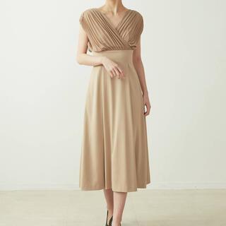 LagunaMoon - ラグナムーン ドレス ベージュ 新品未使用タグ付き