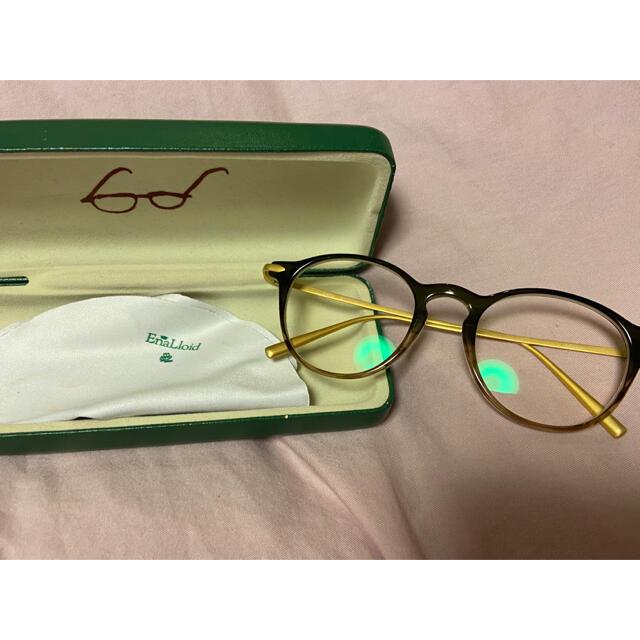 DEUXIEME CLASSE(ドゥーズィエムクラス)のEnaLloid メガネ 眼鏡 伊達眼鏡 ayame レディースのファッション小物(サングラス/メガネ)の商品写真