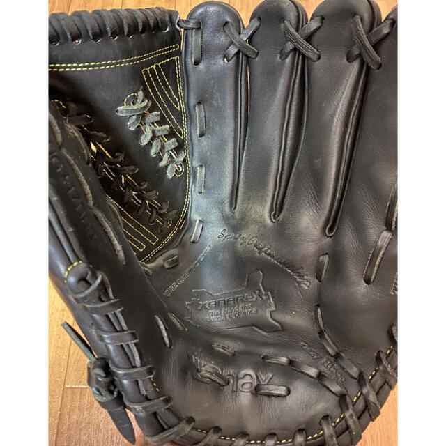 Xanax(ザナックス)のザナックス 硬式グローブ スポーツ/アウトドアの野球(グローブ)の商品写真