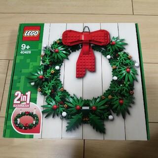 レゴ(Lego)の【新品未開封】 LEGO 40426 クリスマスリース(その他)