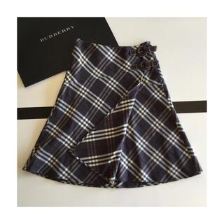 バーバリーブルーレーベル(BURBERRY BLUE LABEL)のBURBERRY BLUE LABEL⭐チェック フレアスカート (ひざ丈スカート)