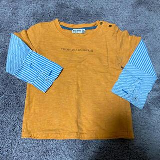 ラグマート(RAG MART)のRAG MART 重ね着風ロンT Tシャツ 90cm(Tシャツ/カットソー)