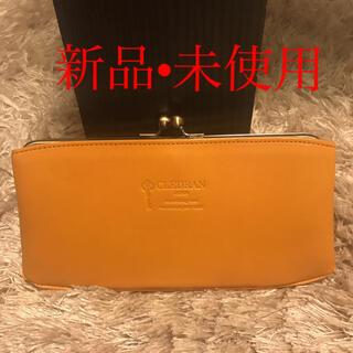 クレドラン(CLEDRAN)の【新品 未使用】CLEDRAN 長財布 がま口(財布)