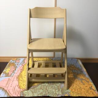 ニトリ(ニトリ)の送料込み ニトリ 木製 学習椅子 高さ調節可能(デスクチェア)