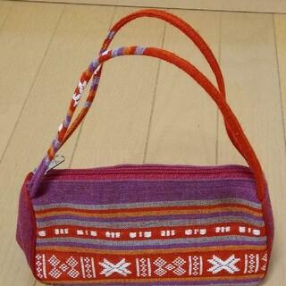 民族風の模様がおしゃれなベトナムのミニバッグ(ハンドバッグ)