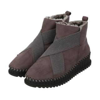 サマンサモスモス(SM2)の新品✨タグ付き♪ ブーツ ブラウン M  23.5センチ 大幅お値下げ‼️(ブーツ)