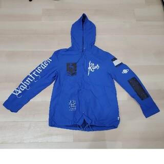 アンダーカバー(UNDERCOVER)のUNDERCOVER/アンダーカバー フードコーチジャケット 青サイズ2(ナイロンジャケット)