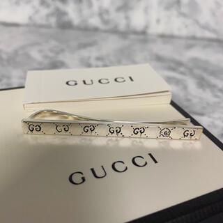 グッチ(Gucci)の未使用 GUCCI ゴースト ネクタイピン タイバー スターリングシルバー(ネクタイピン)