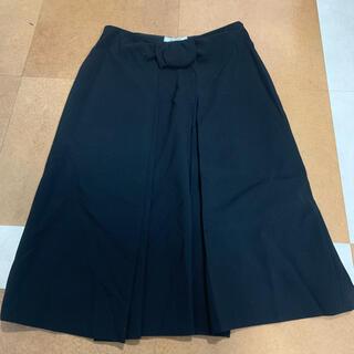 モスキーノ(MOSCHINO)のモスキーノ ブラックスカート (ひざ丈スカート)