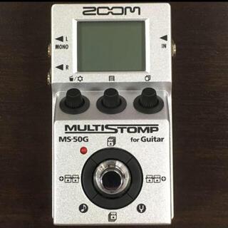 ズーム(Zoom)のZOOM MS50G マルチストンプ(エフェクター)