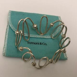 Tiffany & Co. - ティファニー 変形 ブレスレット  バングル AC9
