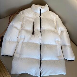ルイヴィトン(LOUIS VUITTON)のファッション限定フルロゴダウンジャケット(ダウンジャケット)