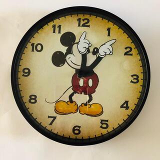 フランフラン(Francfranc)のFrancfranc 限定壁掛け時計 ミッキー 新品未使用 保証書付き(掛時計/柱時計)