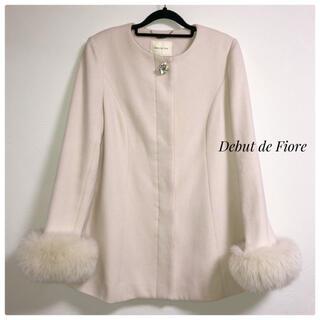 Debut de Fiore - 【美品】Debut de Fiore ホワイトコート