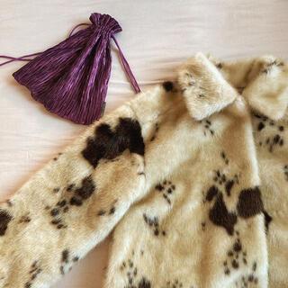 ロキエ(Lochie)のcow fur jacket 新品未使用(毛皮/ファーコート)
