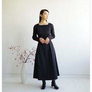foufou THE DRESS#26 スクエアネックドレス(ロングワンピース/マキシワンピース)