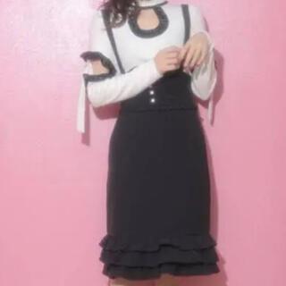 バブルス(Bubbles)のMelt the lady ジャンパースカート(ひざ丈スカート)