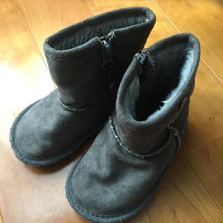 ファミリア(familiar)のファミリア ムートンブーツ 14.0cm(ブーツ)