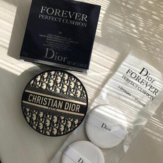 ディオール(Dior)の新品未使用 ディオール 限定 ロゴマニア クッションファンデ 0N(ファンデーション)