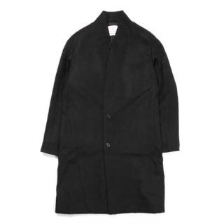 マーカウェア(MARKAWEAR)のMARKAWARE MINIMALIST COAT BLACK 2(ステンカラーコート)
