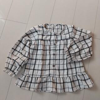 ラーゴム(LAGOM)のラーゴム チェックシャツ 110cm(ブラウス)