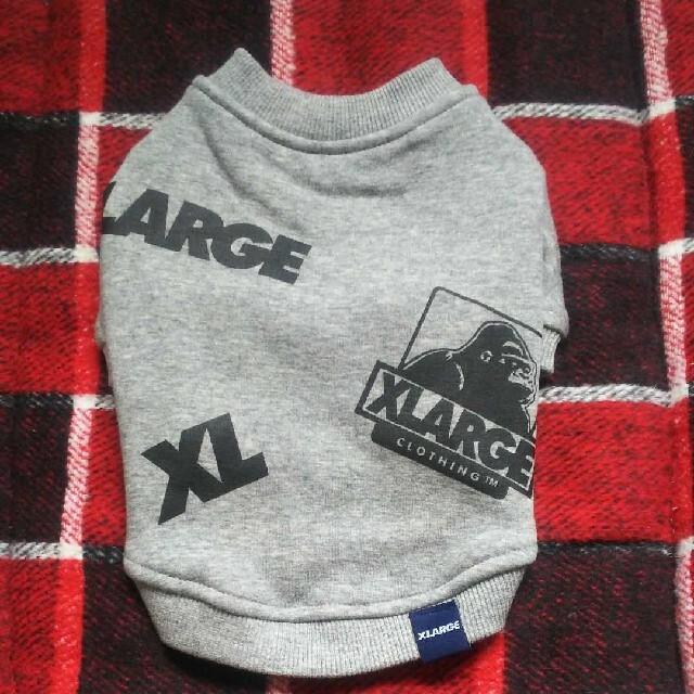 XLARGE(エクストララージ)の犬服スエットXLARGE Mサイズ その他のペット用品(犬)の商品写真