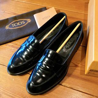 TOD'S - TOD'S トッズ ローファー 36 23cm 黒 ブラック