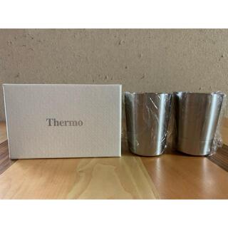 【新品】 Thermo サーモ ステンレスマグカップ グラス ペアカップ