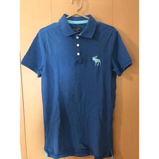 アバクロンビーアンドフィッチ(Abercrombie&Fitch)のアバクロ ポロシャツ ブルー(ポロシャツ)