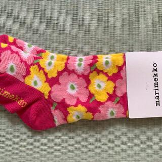マリメッコ(marimekko)のマリメッコ靴下キッズ。(靴下/タイツ)