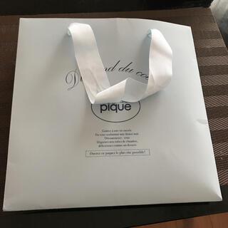 ジェラートピケのショップ袋