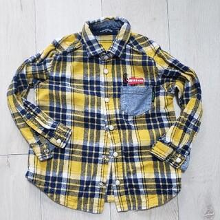 クレードスコープ(kladskap)のクレードスコープ チェックシャツ 100cm(ブラウス)
