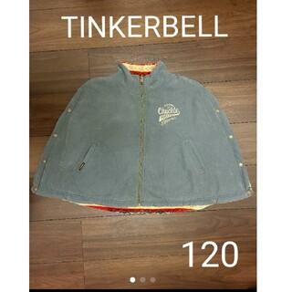 ティンカーベル(TINKERBELL)のTINKERBELL ティンカーベル ポンチョ アウター 120(ジャケット/上着)