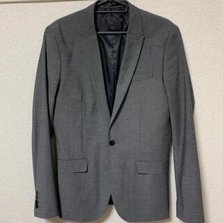 エイチアンドエム(H&M)のH&M スキニーフィットテーラードジャケット(テーラードジャケット)