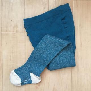 プチバトー(PETIT BATEAU)のプチバトー ラメ入りタイツ(靴下/タイツ)