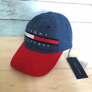 トミーヒルフィガー(TOMMY HILFIGER)のトミーヒルフィガー  フラッグ ロゴ キャップ 帽子 野球帽  ブランド 新品(キャップ)