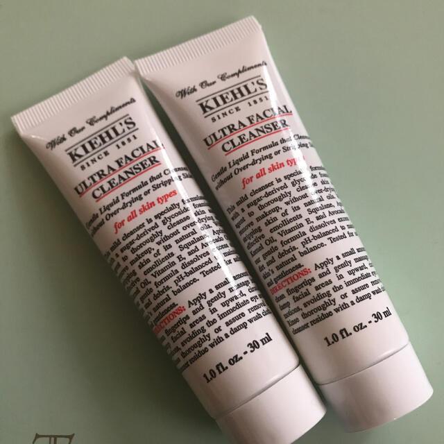 Kiehl's(キールズ)のKiehl's キールズ ウルトラフェイシャルクレンザー 2本セット コスメ/美容のスキンケア/基礎化粧品(洗顔料)の商品写真