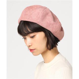 ウィゴー(WEGO)のピンクベレー帽(ハンチング/ベレー帽)