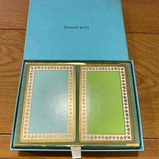 ティファニー(Tiffany & Co.)のティファニー トランプ 未開封 フィルム付き(トランプ/UNO)