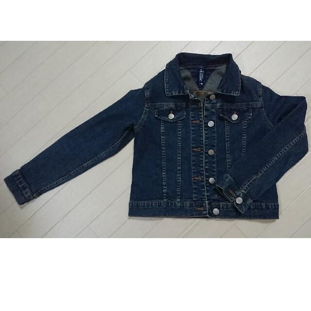 デニムジャケット    キッズ/ベビー/マタニティのキッズ服女の子用(90cm~)(ジャケット/上着)の商品写真