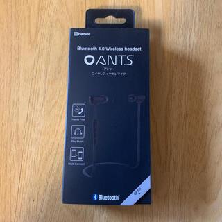 イヤホンマイク Bluetooth 4.0 ワイヤレス イヤフォン / ブラック(ヘッドフォン/イヤフォン)