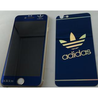 アディダス(adidas)の海外限定アディダス強化ガラス4色選択(iPhoneケース)