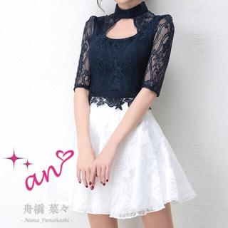 アン(an)のan ワンピース ドレス Sサイズ(ミニワンピース)