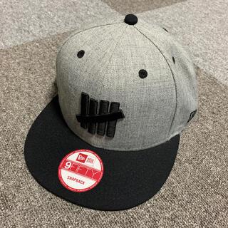アンディフィーテッド(UNDEFEATED)のundefeated newera cap SnapBack グレー/ブラック (キャップ)