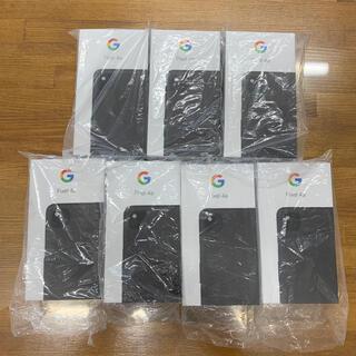 アンドロイド(ANDROID)の新品 Google Pixel4a SIMフリー 128GB 7台セット(スマートフォン本体)