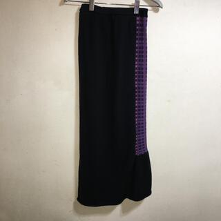 シビラ(Sybilla)の新品 アルファスピン ストレッチ デザイン マキシ スカート M(ロングスカート)