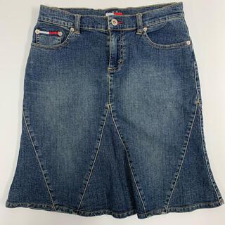 トミーヒルフィガー(TOMMY HILFIGER)のtommy jeans デニム スカート  ミニ(ミニスカート)