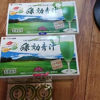 アサヒ(アサヒ)の[専用です]アサヒ緑健 緑効青汁90袋+3袋✖️2(青汁/ケール加工食品)